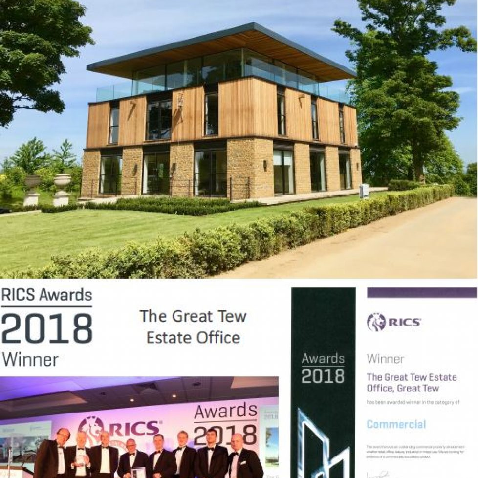 RICS Awards 2018 Winner: The Great Tew Estate Office